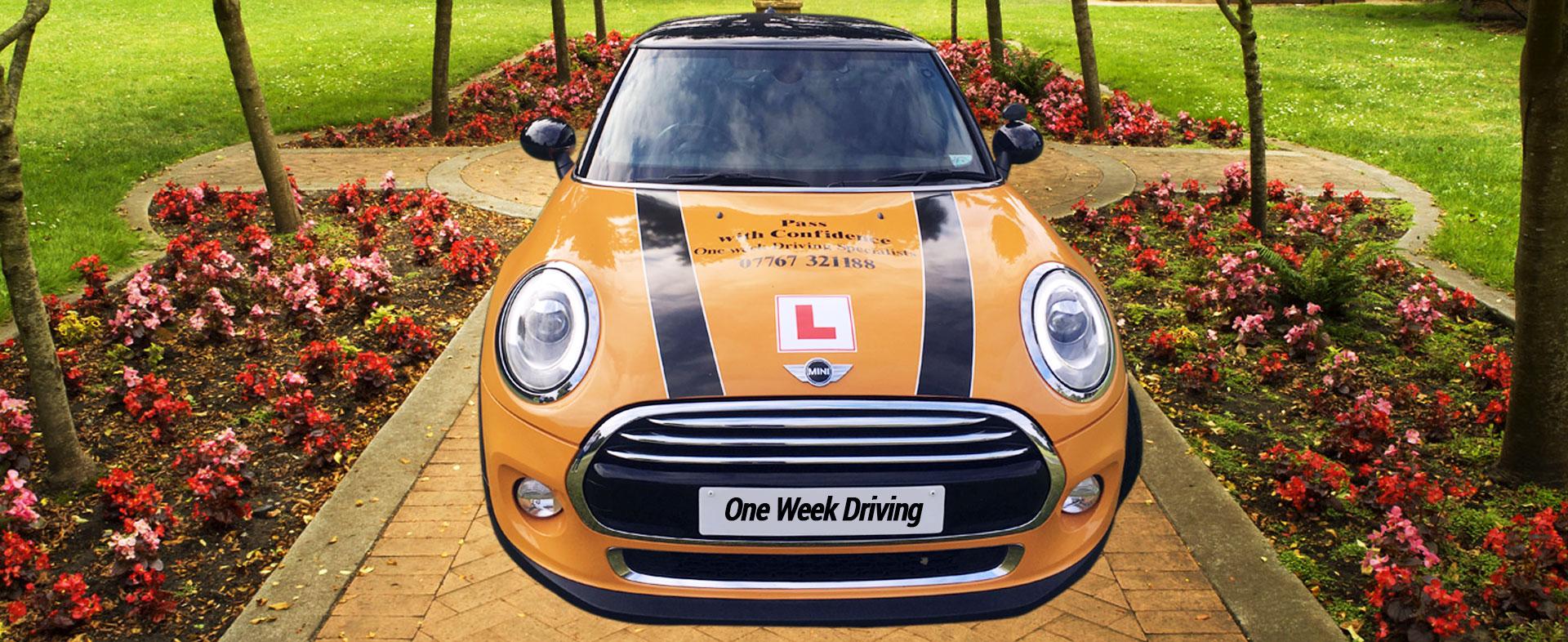 One Week Driving slide - 5